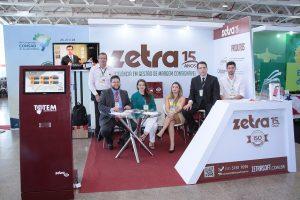 Estande da Zetra no VIII Congresso Consad