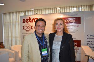 Rafael Gurgel e Alice Viana, Presidente do Consad