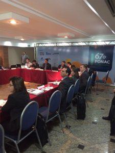 A 67ª edição do Fonac foi realizada no Rio de Janeiro