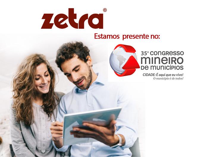ZETRA PARTICIPA DO 35º CONGRESSO MINEIRO DE MUNICÍPIOS