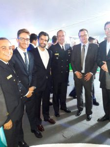 Executivos da SalaryFits embarcaram no Navio-Escola, da Marinha do Brasil