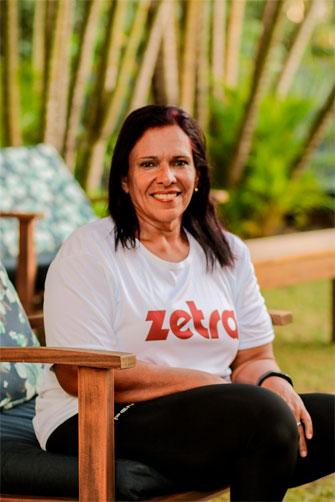 monica veloso atleta patrocinada zetra