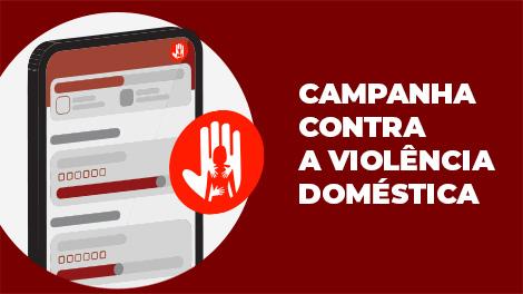 Campanha contra a violência doméstica Zetra
